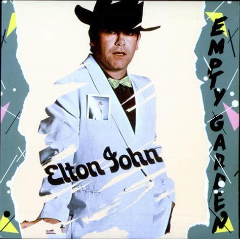 elton john empty garden elton john empty garden brazil promo 7 quot vinyl record