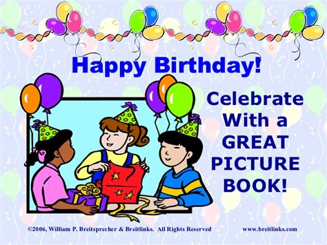 birthday picture books great birthday picture books