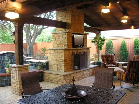 Outdoor Fireplace And Patio Designs Unique Hardscape Outdoor Patio Design Pictures