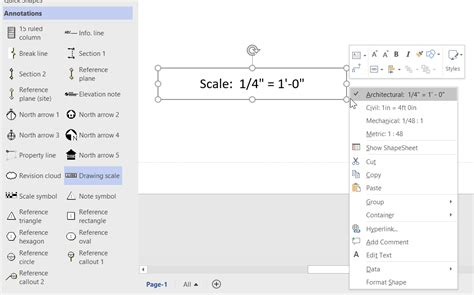 visio drawing scale the different drawing scale shapes in visio bvisual