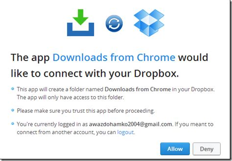dropbox download link directly upload linked files from chrome firefox to dropbox