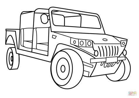 army vehicles coloring pages print military light utility vehicle coloring page free