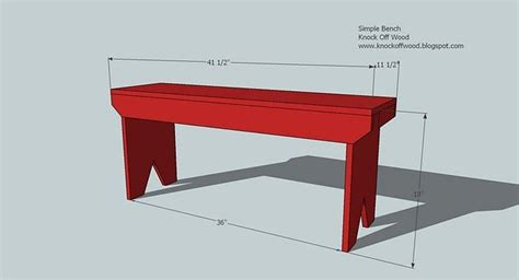 easy wooden bench ana white build a 5 board bench free and easy diy project and furniture plans do