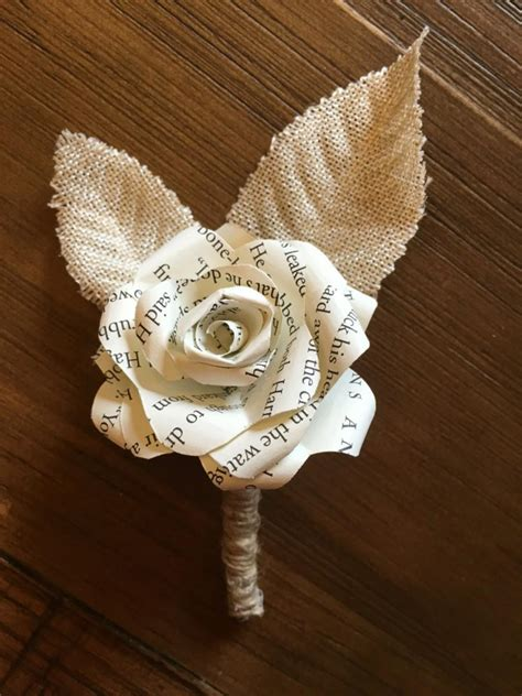 How To Make Paper Boutonniere - harry potter paper flower boutonniere harry potter