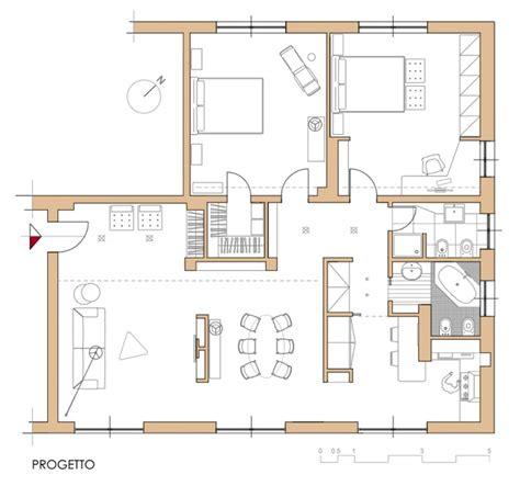 progetto casa 120 mq ristrutturazione di un appartamento di 120 mq scritto di