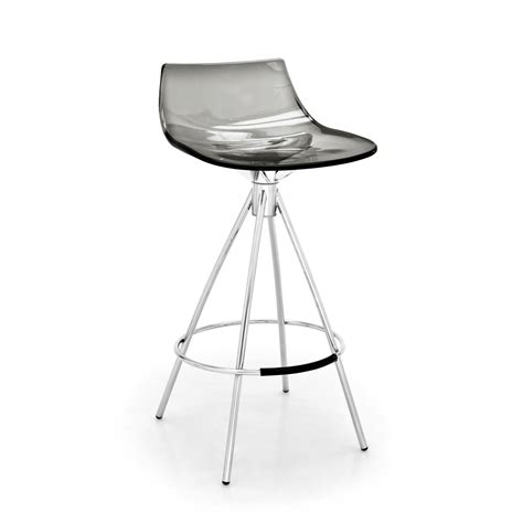 Tabouret Assise 65 Cm by Connubia Tabouret De Bar Led Gris Fum 233 Assise 65 Cm