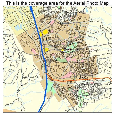 map of temecula aerial photography map of temecula ca california