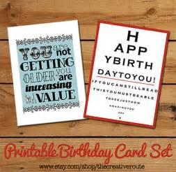 items similar to printable birthday cards funny birthday
