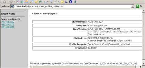 Biopier Products Online Patient Profiling Patient Profile Template