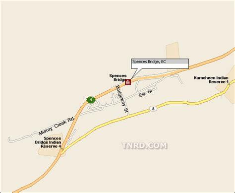 Spences Bridge Road Maps