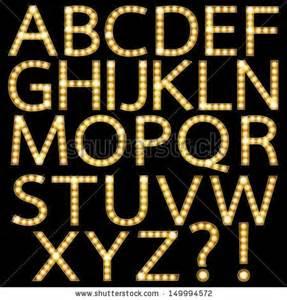 light font theater marquee lights font set of golden broadway light