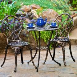 Black Wrought Iron Patio Furniture Sets Wrought Iron Patio Furniture The Garden And Patio Home Guide