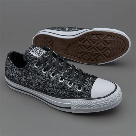sepatu sneakers converse womens chuck all ox black