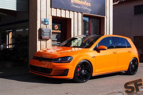 orange volkswagen gti image gallery 2014 gti tuner