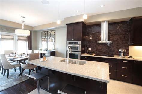 modern living room dining combo model home kitchen and dining room combination modern kitchen