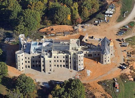 Mansions More Update On The Construction Of Pensmore 72000 Square Foot House Ozarks