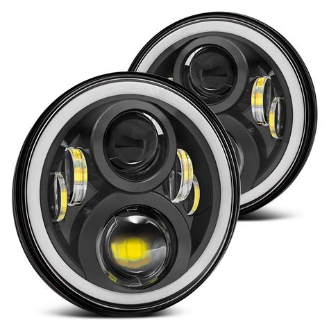 lada led 60w 2nd generation led 7 inch 60w hi lo beam headlight with
