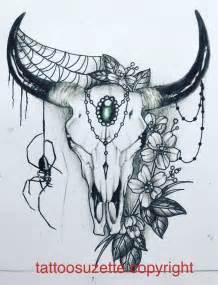best 25 bull skull tattoos ideas on pinterest bull