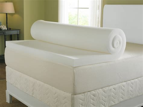 memory foam mattress topper for futon 3 quot 4lbs memory foam mattress topper nature s sleep