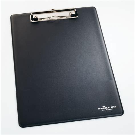 porta block notes durable porte bloc a4 standard coloris noir bloc note
