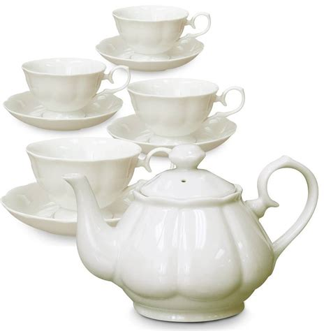 Coffee Set porcelain tea set elyzfurnishing