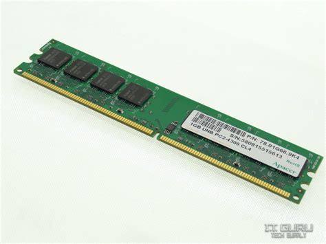 Hp Acer 1gb apacer 1gb 2rx8 pc2 4300 ddr2 533mhz dimm desktop memory