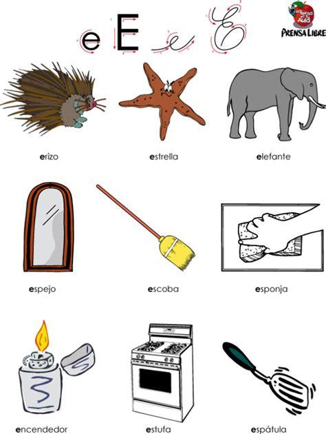 imagenes que empiecen con la letra e para colorear letra e el universo de leo
