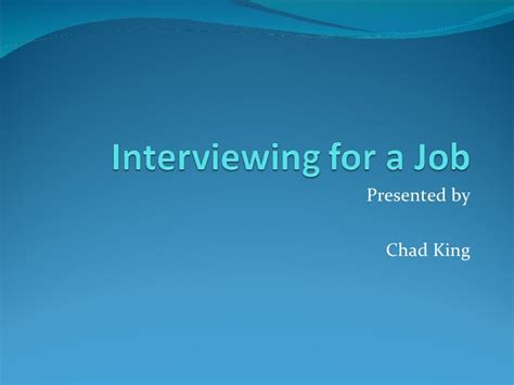 presentation templates for job interview interview skills powerpoint