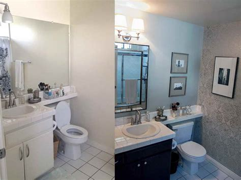 before and after small bathrooms bathroom small design bathroom makeovers before after