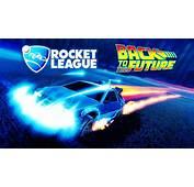 Back To The Future Delorean Rocket League Championship W
