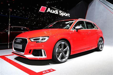 Audi Rs 3 Sportback by 2018 Audi Rs 3 Sportback Debuts At 2017 Geneva Auto Show