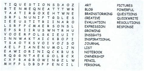 Search Essay In by Word Search Writing Notebooks