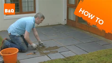 How To Lay Patio Slabs by How To Lay A Patio