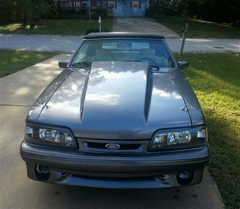 1990 ford mustang 5 0 convertible 1990 mustang foxbody gt 5 0 convertible classic ford