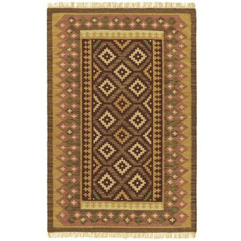 woven sedona flat weave rug 5x8 169023 rugs at