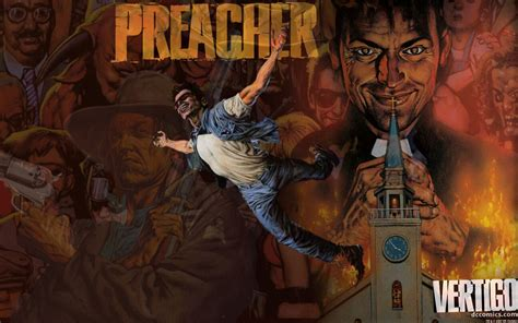 Preacher 3 Book 2010 By Montaje De Preacher Covers By Estebanjosue On Deviantart