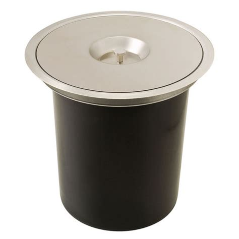 hafele built in single waste bin for counter top 12