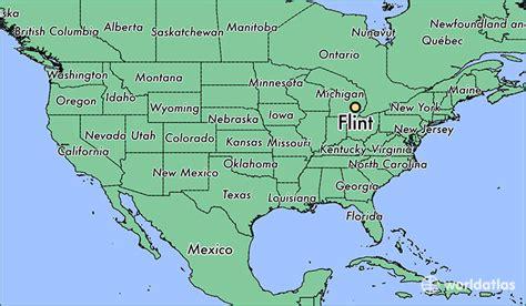 michigan in world map where is flint mi where is flint mi located in the