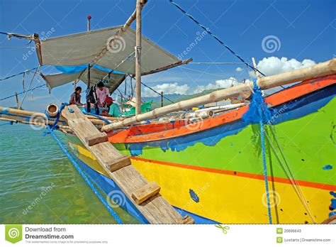 fishing boat business philippines philippine fishing boat editorial stock photo image
