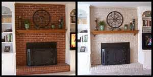 kamin farbe painting brick fireplace ideas