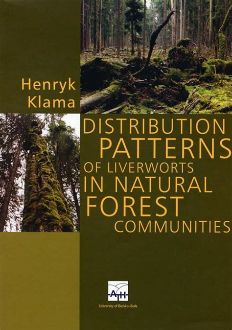 most common dispersion pattern in nature distribution patterns of liverworts in natural forest