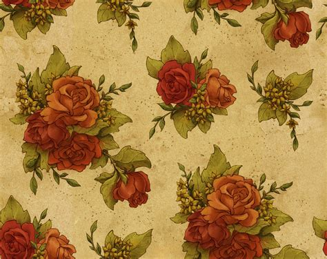vintage pattern wallpaper tumblr floral desktop backgrounds wallpaper cave