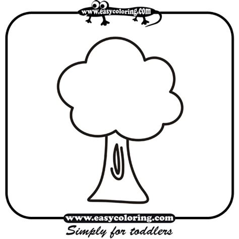 Simple Tree Of Life Coloring Coloring Pages Simple Tree Coloring Pages
