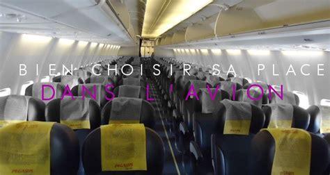 choisir siege avion conseils pour bien choisir sa place dans un avion