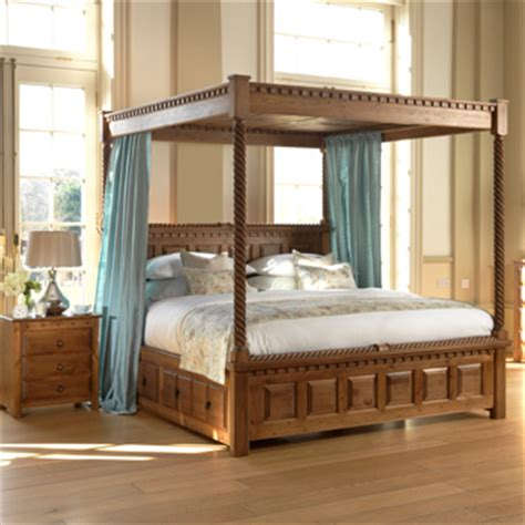beds uk four poster bed the vermont from revival beds