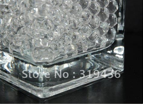 high clear transparent soil water hydrogel