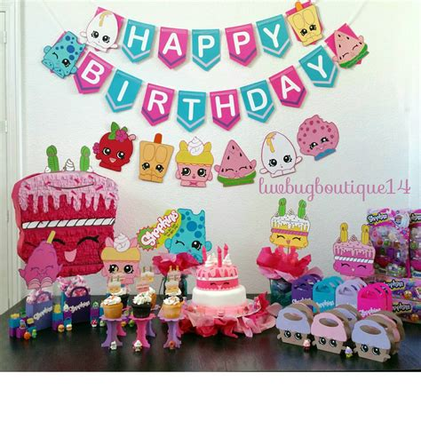 shopkins happy birthday banner printable shopkins birthday banner shopkins party banner