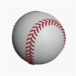 baseball obj