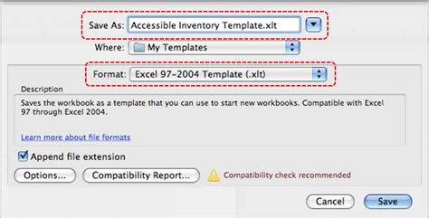 format excel xlt authoring techniques for accessible office documents