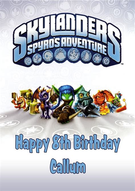 Skylander Birthday Invitations Free Best Party Ideas Skylanders Birthday Invitations Template